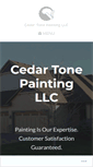 Mobile Preview of cedartonepainting.biz